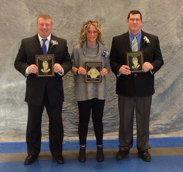 2017 Inductees - Troy Bodine, Cortney Bumbalugh and Mike Waggoner