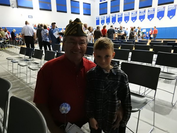 Veterans Day Program hosted by Brookville Elementary
