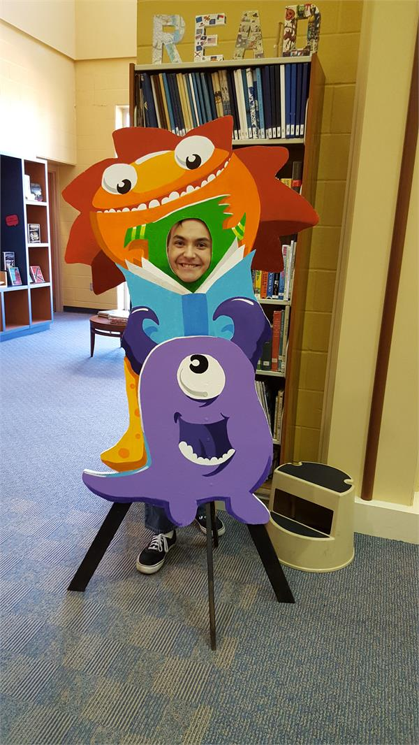 Book Fair Monster 2015