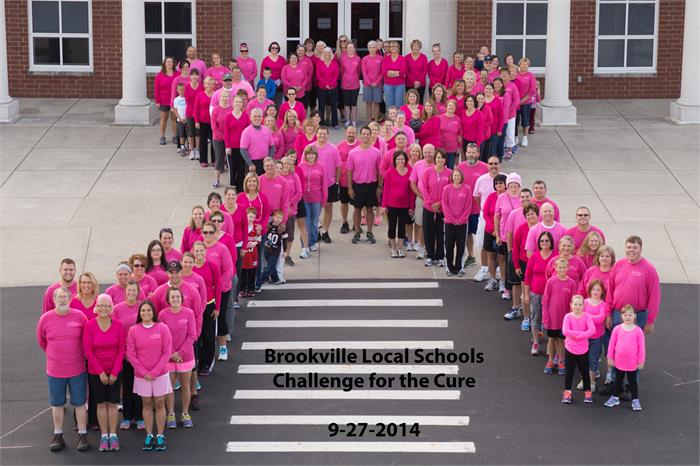 Brookville's Staff Raises $4,300 for the Cause