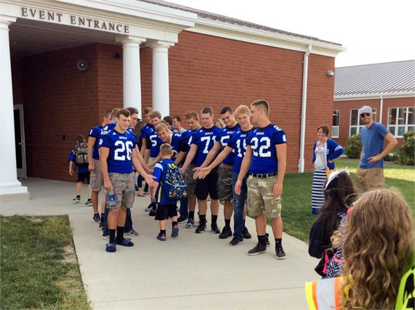 Walk to School Day 2015