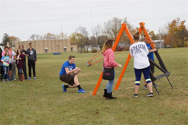 HS - Key Club Pumpkin Chucking for ALS