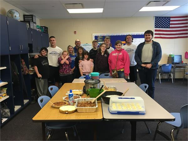 BHS Life Skills - Thanksgiving Meal
