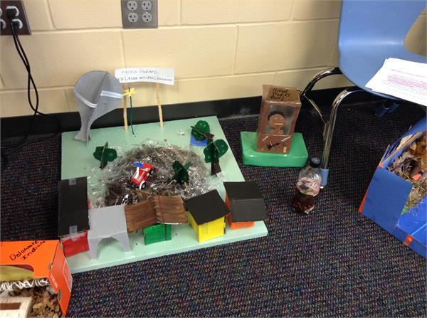 Sunwatch Village and Creating A Village With Recyclable Material