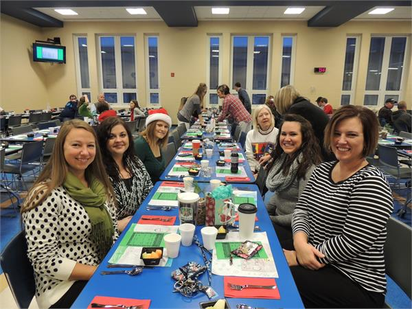 Scenes from the Staff Christmas Breakfast