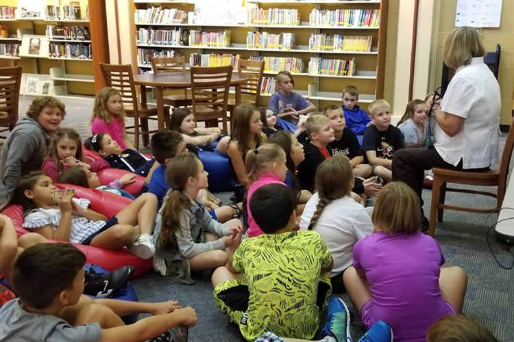 4th Grade Library Time
