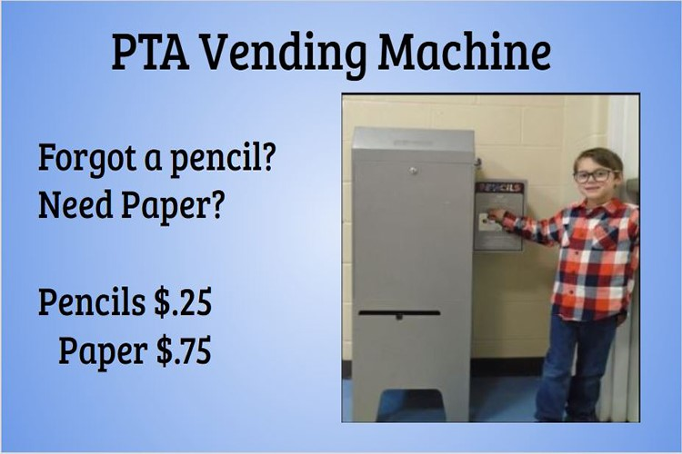 PTA Vending Machine
