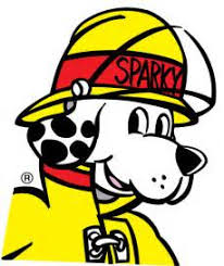 Fire Prevention Dog Sparky