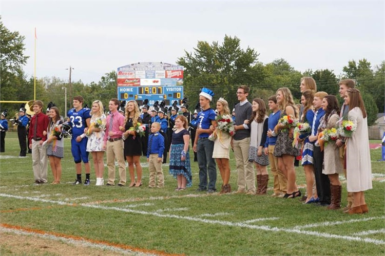 The Homecoming Court 2015