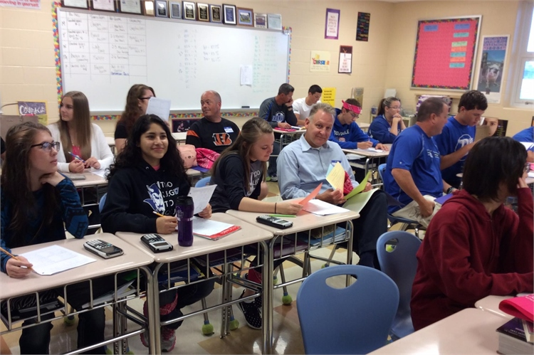 Parents and Students spent time together on SWAP Day