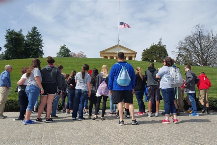 A visit to Arlington National Cemetary