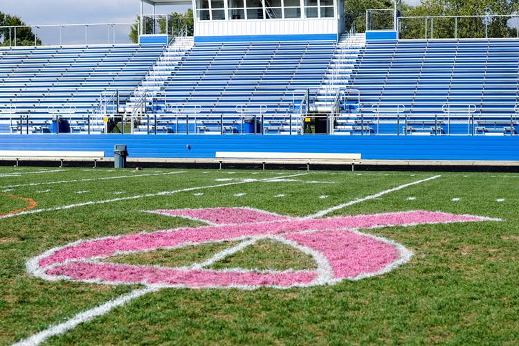 Our field is ready for Breast Cancer Awareness Month