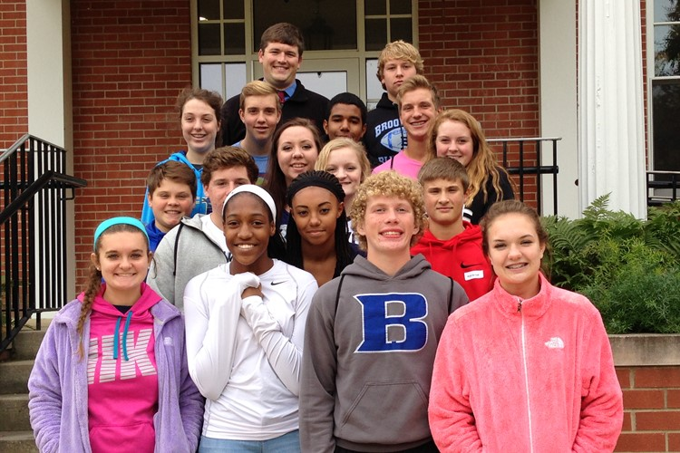 BHS Freshmen visited Earlham College this week for a campus tour.