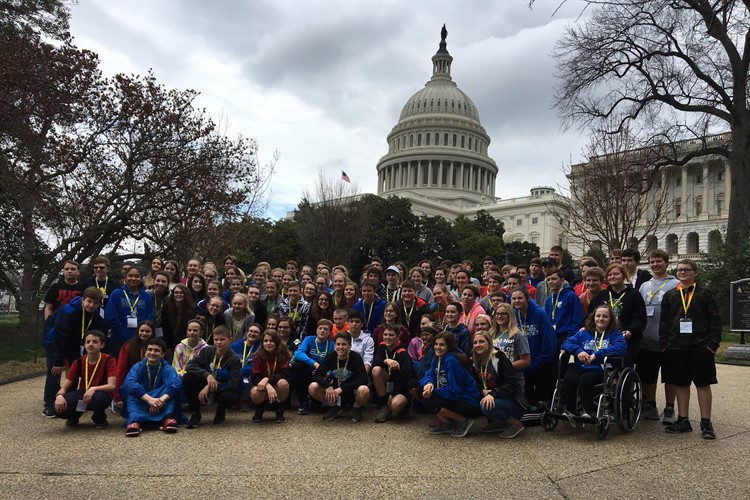 8th grade visit to d.c. - see gallery below for more photos
