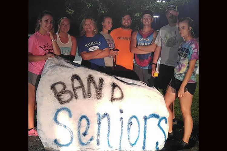Senior Band Students