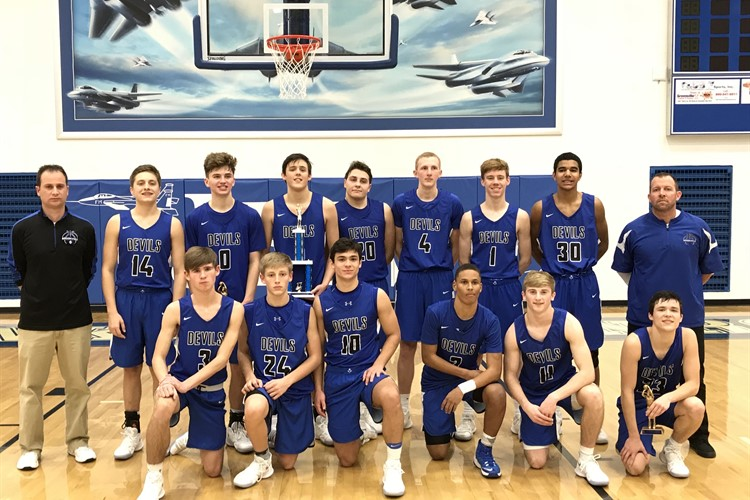 Boys Varsity Basketball Placed 2nd at Jet Tournament
