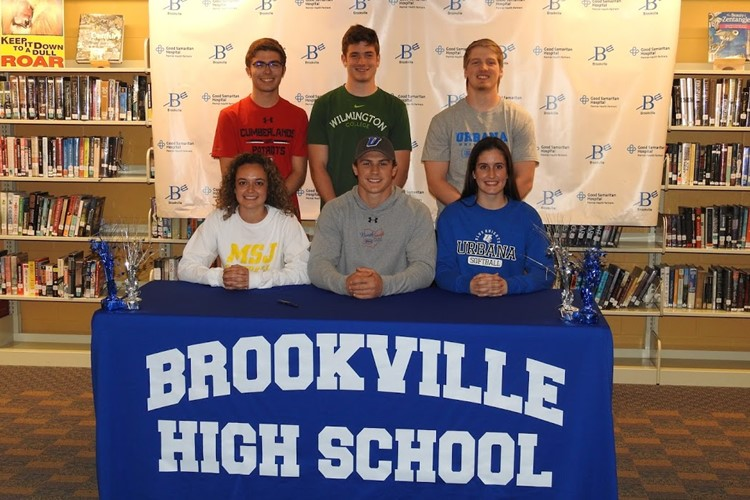 Athletic College Signing