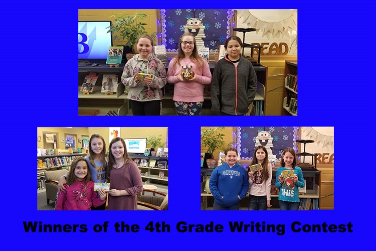 Winners of writing contest