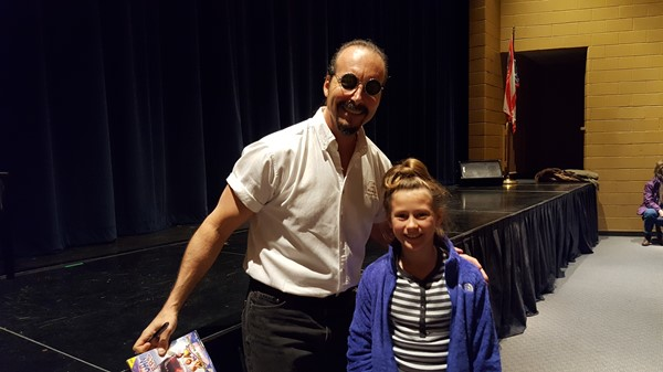 Author Johnathan Rand's Visit to Brookville Schools