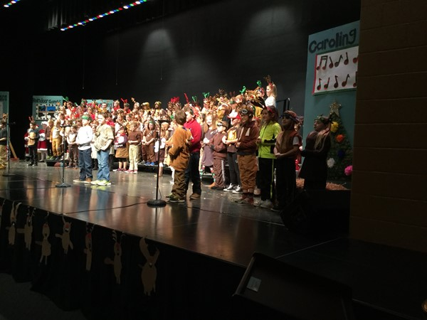 2nd Grade Holiday Performance