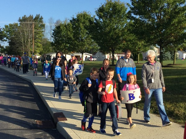 BES Walk to School Day