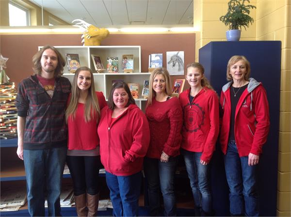 2015 February - Go RED for Women - American Heart Association