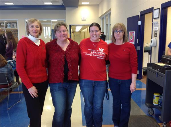 2016 February Go RED for Women - American Hearth Assoc