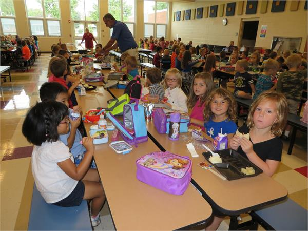 Lunch at the Elementary
