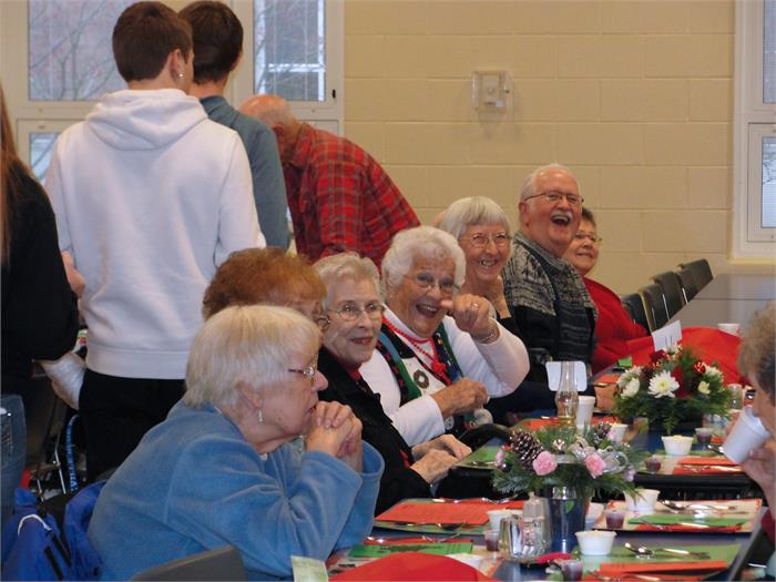 2014 Senior Citizen Lunch compliments of BHS