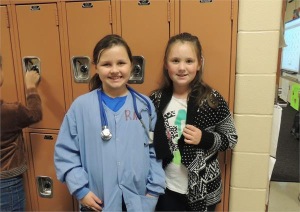 Career Day - Nurse & Librarian