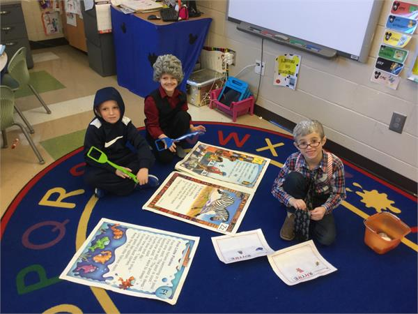 Teachers and Students Celebrate the 100th day of School on January 28, 2016