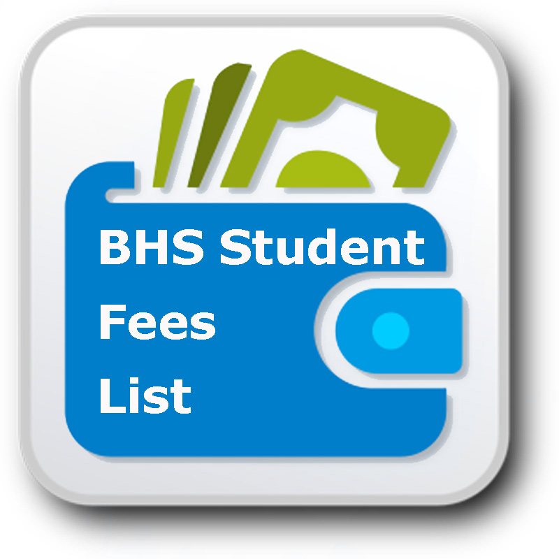 bhs fees list