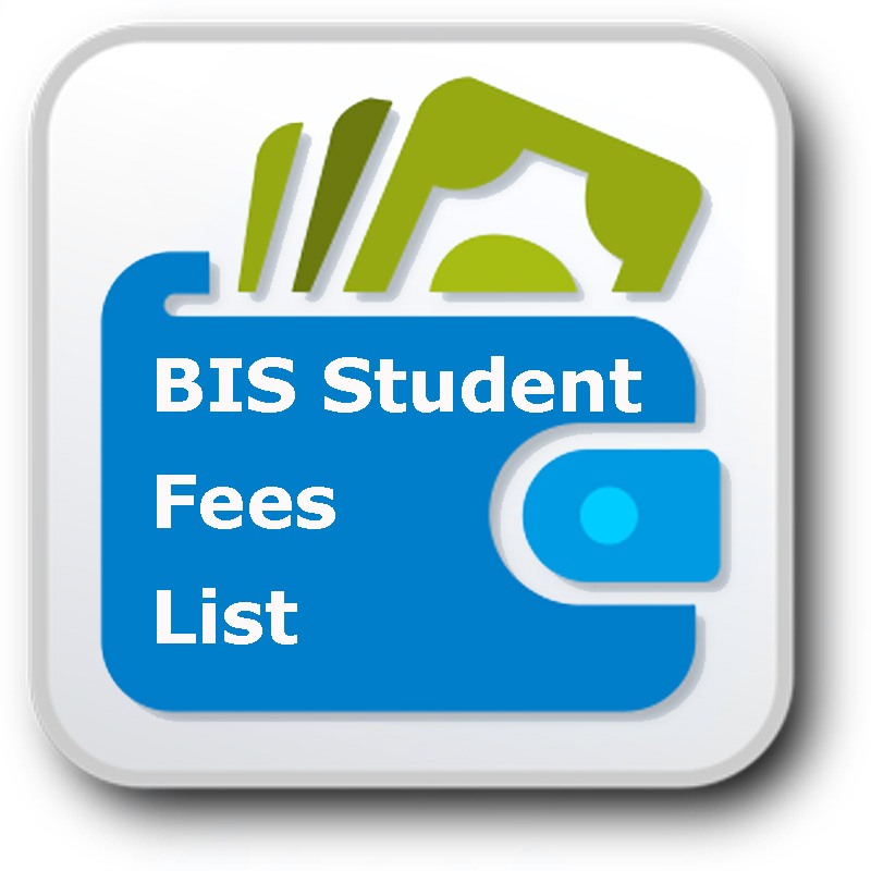 bis fees list