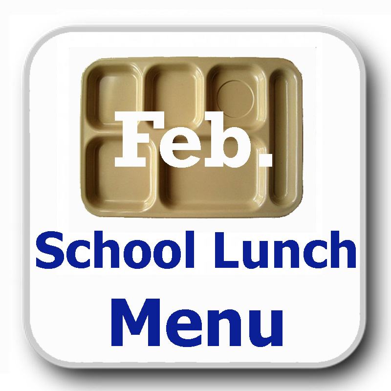 FEB LUNCH MENU